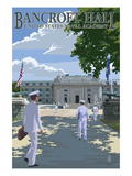 Bancroft Hall - United States Naval Academy - Annapolis, Maryland Prints by  Lantern Press