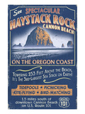 Cannon Beach, Oregon - Haystack Rock Posters by  Lantern Press
