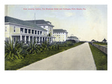 Palm Beach, Florida - Breakers Hotel and Casino View Print by  Lantern Press