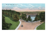Cincinnati, Ohio - Eden Park Y Roads Scene Print by  Lantern Press