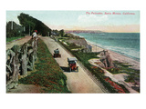 Santa Monica, California - View of the Palisades Prints by Lantern Press 