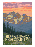 Sierra Nevada High Country - Sonora Pass, Tuolumne County, California - Spring Flowers Posters by  Lantern Press