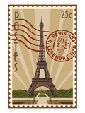 Eiffel Tower Prints by  Lantern Press