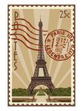 Eiffel Tower Prints by  Lantern Press