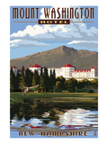 Mount Washington Hotel - Bretton Woods, New Hampshire Art by  Lantern Press