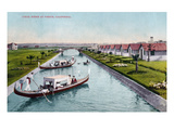 Venice, California - Gondalas on the Canal Posters by  Lantern Press