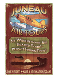 Juneau, Alaska - Air Tours Posters by  Lantern Press