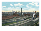 Philadelphia, Pennsylvania - West Philadelphia Station and Yard Panoramic Prints by  Lantern Press