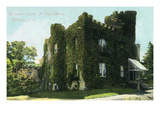 Rochester, New York - Mt. Hope Avenue, Warner Castle View Art by  Lantern Press
