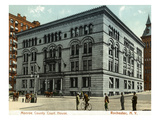 Rochester, New York - Monroe County Court House Exterior View Posters by  Lantern Press