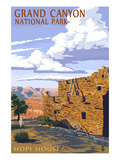 Grand Canyon National Park - Hopi House Posters by  Lantern Press