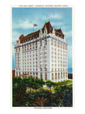 Winnipeg, Manitoba - Fort Garry Hotel Exterior Posters by  Lantern Press