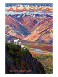 Denali National Park, Alaska - Polychrome Pass Plakater av  Lantern Press
