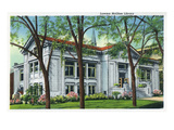 Knoxville, Tennessee - Exterior View of the Lawson McGhee Library Prints by  Lantern Press