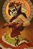 Day of the Dead - Marionettes Affiches par  Lantern Press