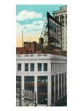 Detroit, Michigan - Madison Theatre Exterior Prints by  Lantern Press