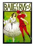 Bailes Rusos (Russion Dance) Theater Posters by  Lantern Press