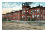 Battle Creek, Michigan - Nichols and Shepard Plant Exterior Poster by Lantern Press