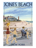 Jones Beach Scene, New York Prints by  Lantern Press