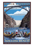 Black Canyon - Willow Beach - Lake Mead National Recreation Area Posters by Lantern Press