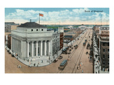 Winnipeg, Manitoba - Bank of Montreal Exterior Poster by  Lantern Press
