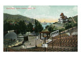 Santa Catalina Island, California - View of the Band-Stand Prints by Lantern Press 