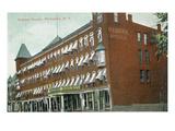Rochester, New York - Osburn House Exterior View Prints by  Lantern Press