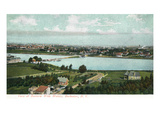 Rochester, New York - Eastern Wide Waters View Prints by  Lantern Press