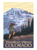Steamboat Springs, Colorado - Hiker Prints by  Lantern Press