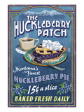 The Huckleberry Patch, Montana Posters by  Lantern Press