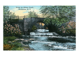 Rochester, New York - Allen's Creek Scene Giclée-Premiumdruck von  Lantern Press