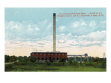 Battle Creek, Michigan - Commonwealth Power Plant Exterior Prints by Lantern Press