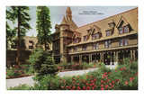 Lake Tahoe, California - Tahoe Tavern Exterior Prints by  Lantern Press