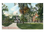 Rochester, New York - Soldiers' and Sailors' Monument in Washington Park Posters by  Lantern Press