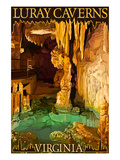 Luray Caverns, Virginia - Wishing Well Posters by  Lantern Press