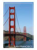 San Francisco, California - Golden Gate Bridge Day Prints by  Lantern Press
