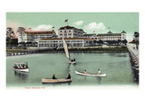 Ormond, Florida - Hotel Ormond Exterior View Posters by  Lantern Press