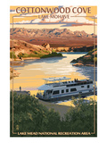 Cottonwood Cove - Lake Mohave - Lake Mead National Recreation Area Prints by  Lantern Press