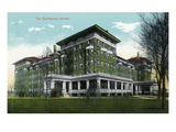 Battle Creek, Michigan - Sanitarium Annex Scene Prints by Lantern Press