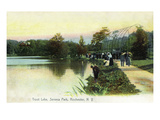 Rochester, New York - Seneca Park, View of Trout Lake Posters by  Lantern Press