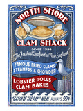 New England - Clam Shack Prints by Lantern Press 