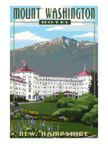 Mount Washington Hotel in Spring - Bretton Woods, New Hampshire Prints by Lantern Press