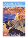 Zabriskie Point - Death Valley National Park Prints by  Lantern Press