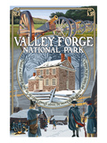 Valley Forge, Pennsylvania - Montage Scenes Prints by  Lantern Press
