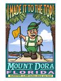Mount Dora, Florida - Climbing Mount Dora Prints by  Lantern Press