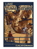 Lakehead, California - Crystal Palace - National Natural Landmark Posters by  Lantern Press