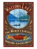 Wallowa Lake, Oregon Prints by  Lantern Press
