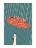 Umbrella Art by  Lantern Press
