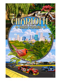 Charlotte, North Carolina - Montage Scenes Posters by  Lantern Press