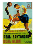 Futbol Promotion Posters by Lantern Press 